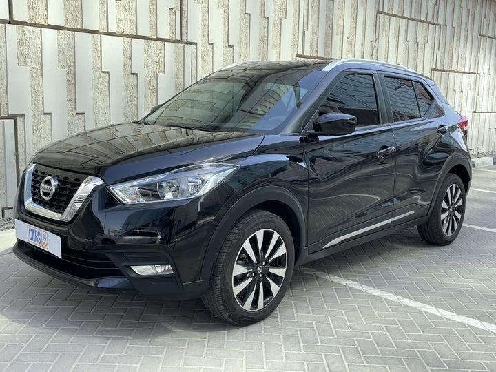 Nissan Kicks-LEFT FRONT DIAGONAL (45-DEGREE) VIEW