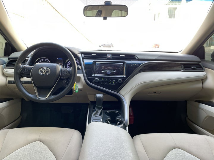 Toyota Camry-DASHBOARD VIEW