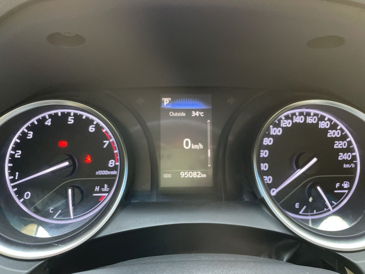 Toyota Camry-ODOMETER VIEW