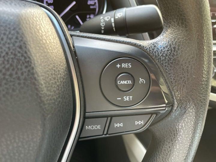 Toyota Camry-CRUISE CONTROL