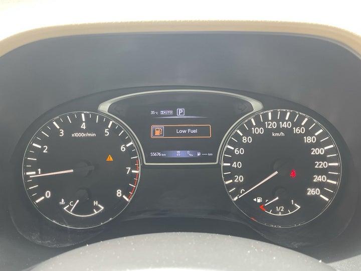 Nissan Pathfinder-ODOMETER VIEW