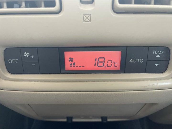 Nissan Pathfinder-REAR AC TEMPERATURE CONTROL