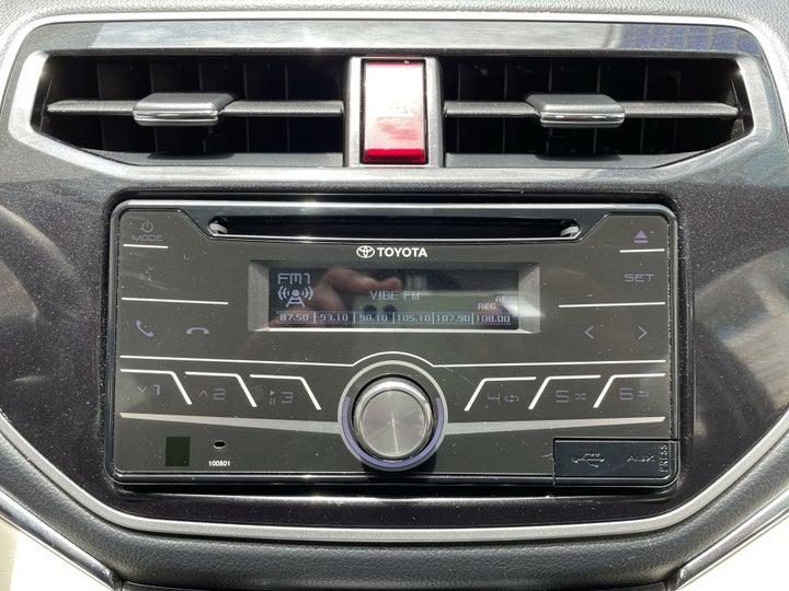 Toyota Rush-INFOTAINMENT SYSTEM