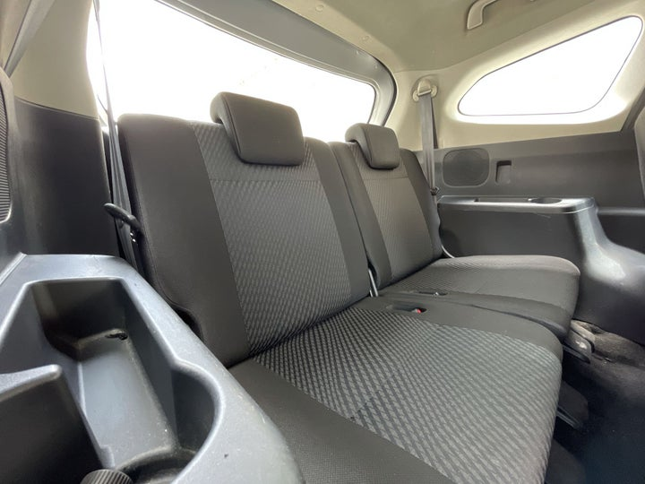 Toyota Rush-THIRD SEAT ROW (ONLY IF APPLICABLE - EG. SUVS)