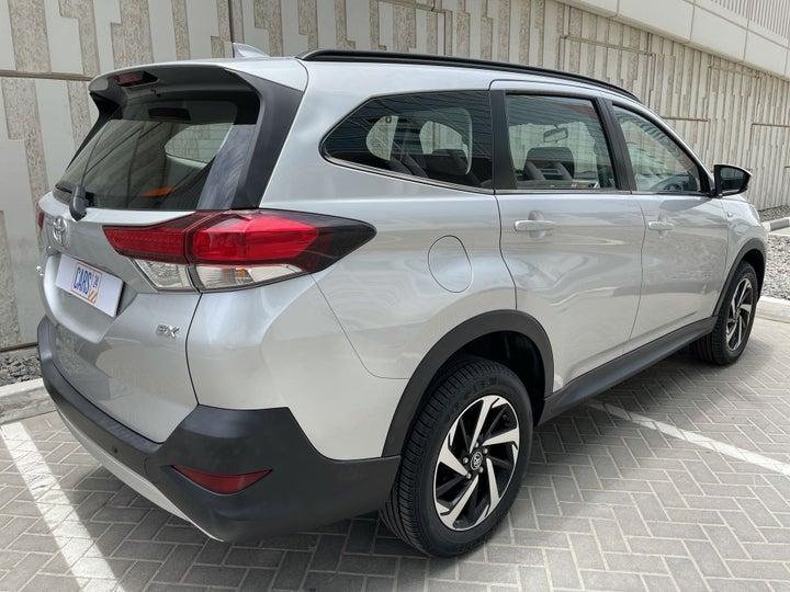 Toyota Rush-RIGHT BACK DIAGONAL (45-DEGREE VIEW)