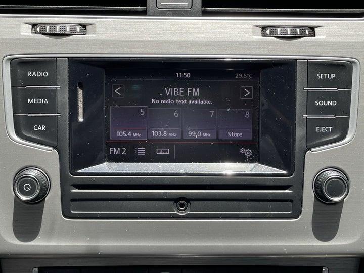 Volkswagen Golf-INFOTAINMENT SYSTEM