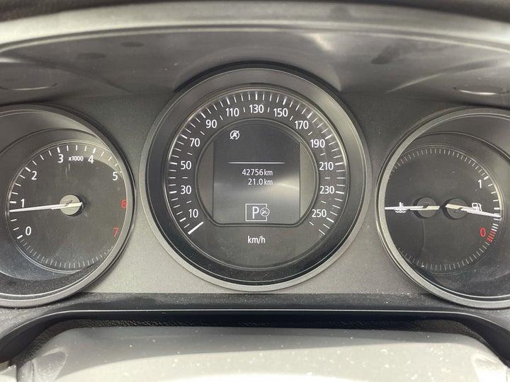 Renault Talisman-ODOMETER VIEW
