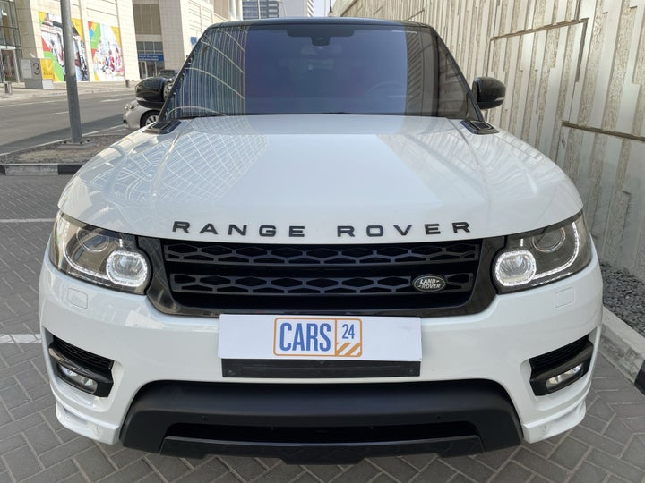 Landrover Range Rover Sport-FRONT VIEW