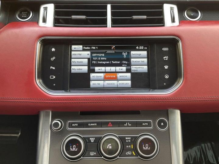 Landrover Range Rover Sport-CENTER CONSOLE