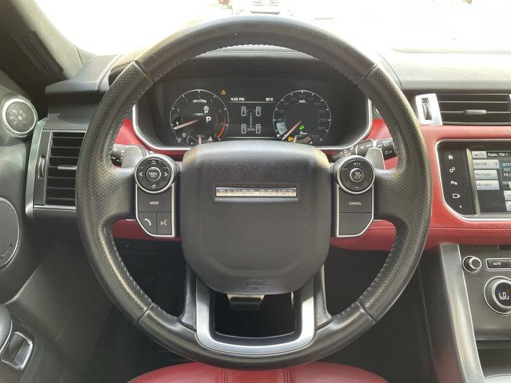 Landrover Range Rover Sport-STEERING WHEEL CLOSE-UP