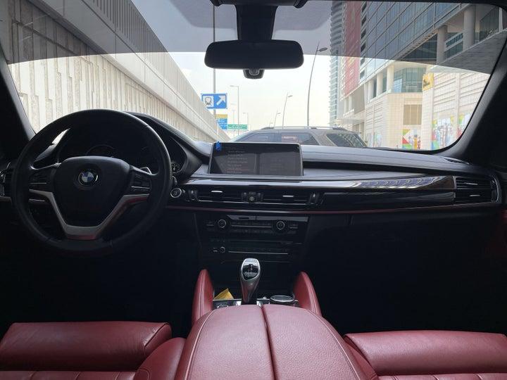 BMW X6-DASHBOARD VIEW
