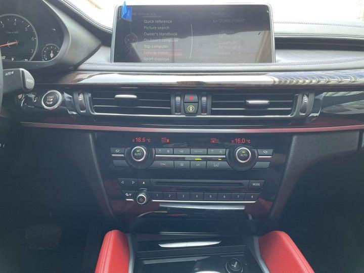 BMW X6-CENTER CONSOLE