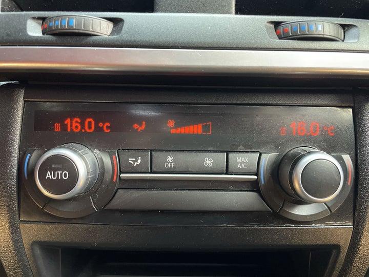 BMW X6-REAR AC TEMPERATURE CONTROL