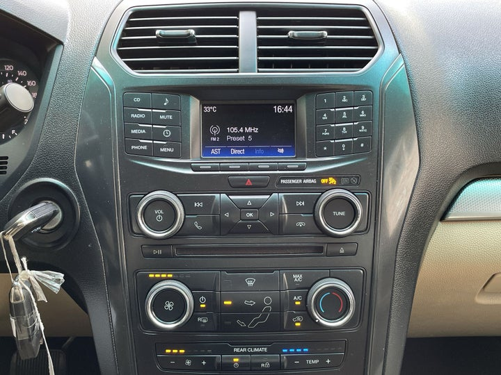 Ford Explorer-CENTER CONSOLE