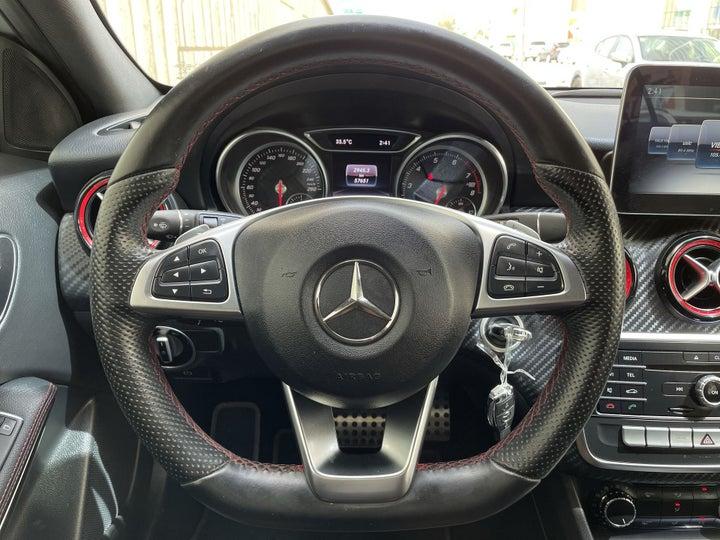 Mercedes Benz A Class-STEERING WHEEL CLOSE-UP