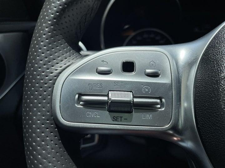 Mercedes Benz C-Class-CRUISE CONTROL