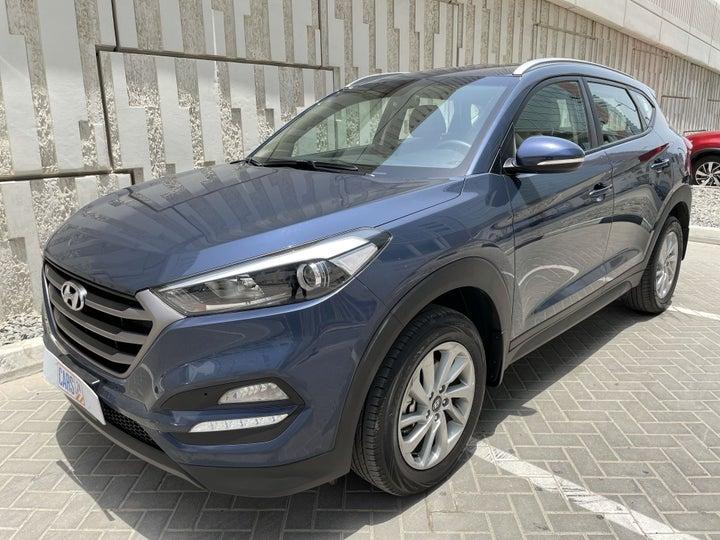 Hyundai Tucson-LEFT FRONT DIAGONAL (45-DEGREE) VIEW