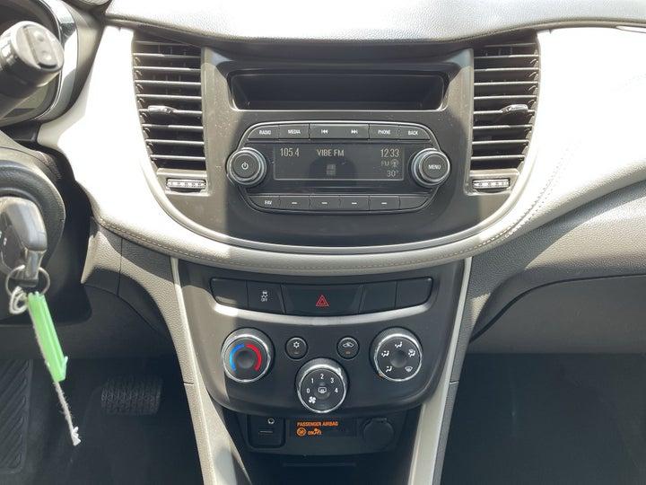 Chevrolet Trax-CENTER CONSOLE