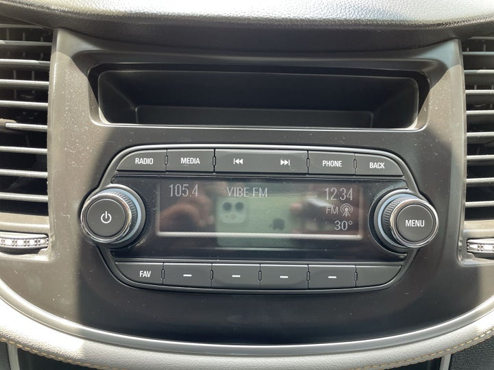Chevrolet Trax-INFOTAINMENT SYSTEM