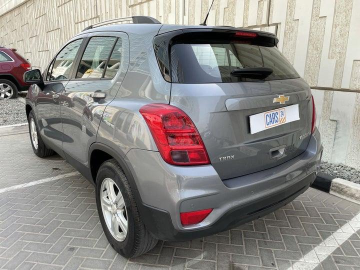 Chevrolet Trax-LEFT BACK DIAGONAL (45-DEGREE) VIEW