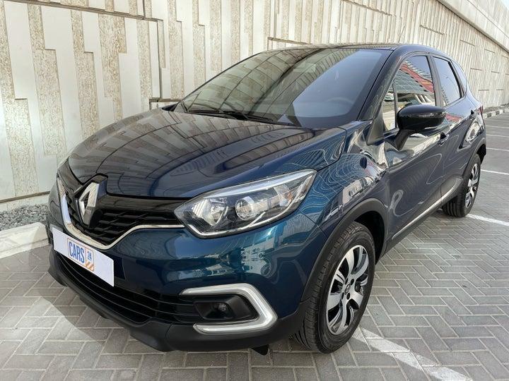 Renault Captur-LEFT FRONT DIAGONAL (45-DEGREE) VIEW