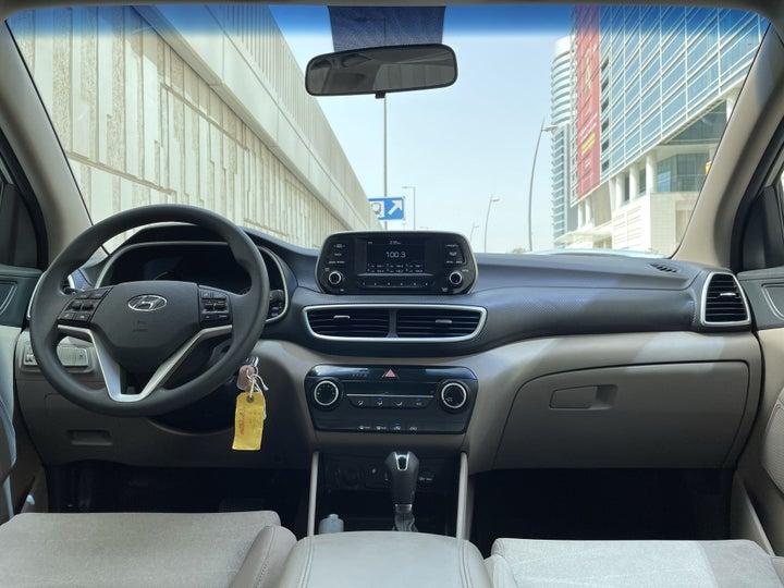 Hyundai Tucson-DASHBOARD VIEW