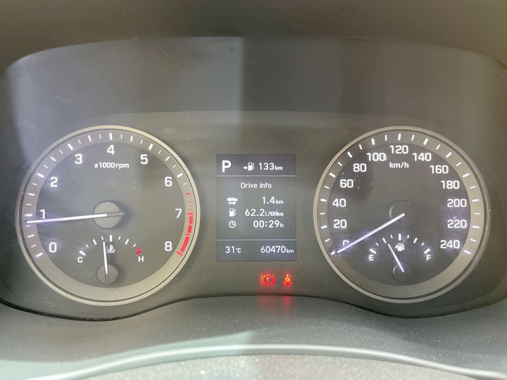 Hyundai Tucson-ODOMETER VIEW
