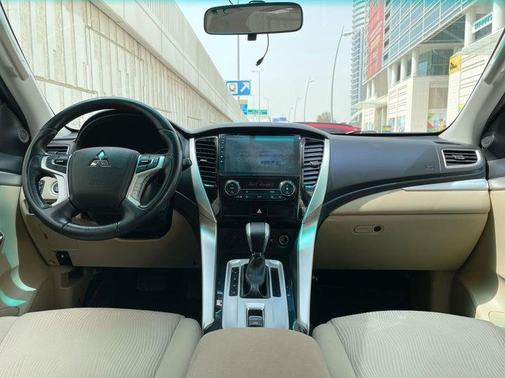 Mitsubishi Montero-DASHBOARD VIEW
