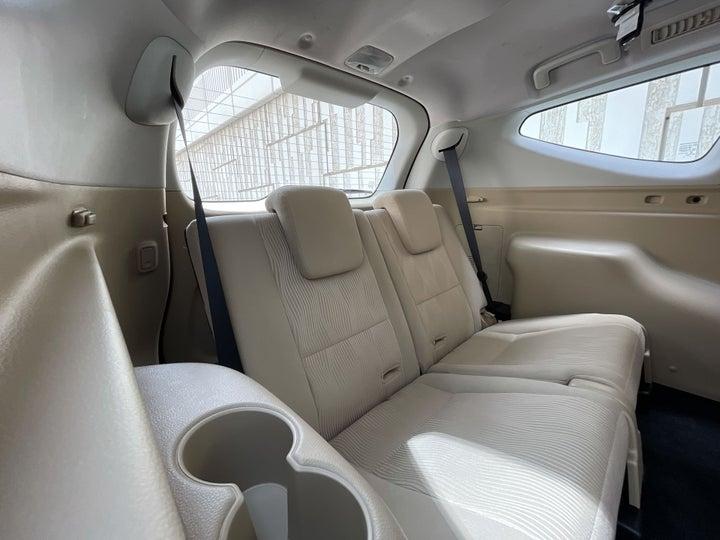 Mitsubishi Montero-THIRD SEAT ROW (ONLY IF APPLICABLE - EG. SUVS)