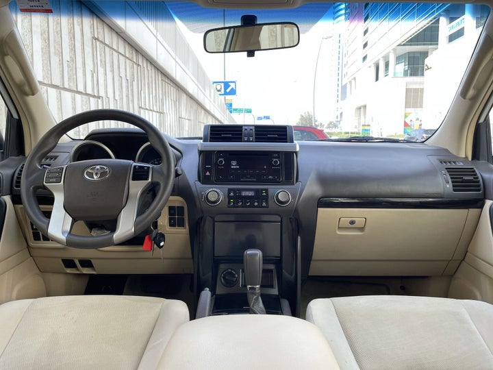 Toyota Prado-DASHBOARD VIEW