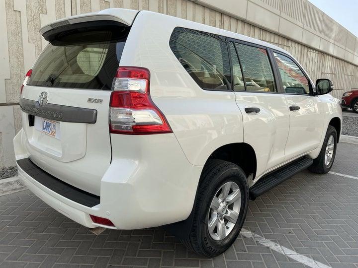 Toyota Prado-RIGHT BACK DIAGONAL (45-DEGREE VIEW)