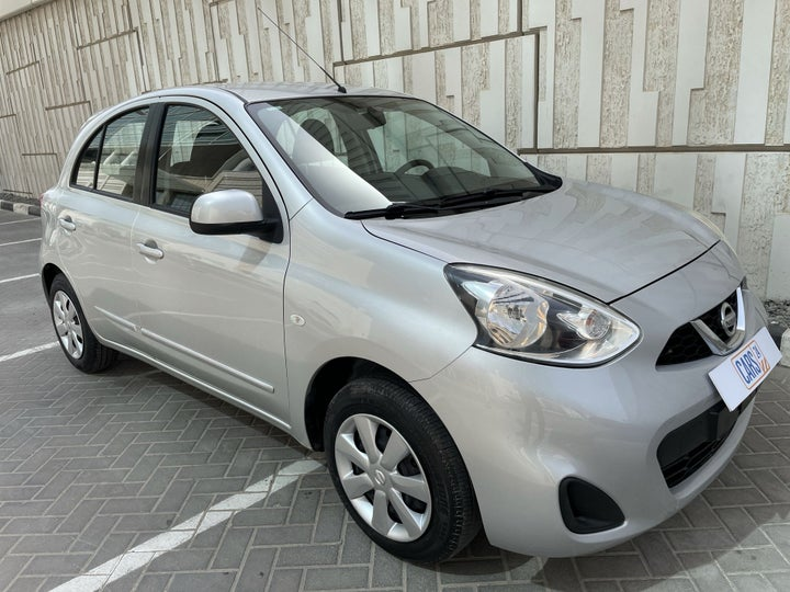 Nissan Micra-RIGHT FRONT DIAGONAL (45-DEGREE) VIEW