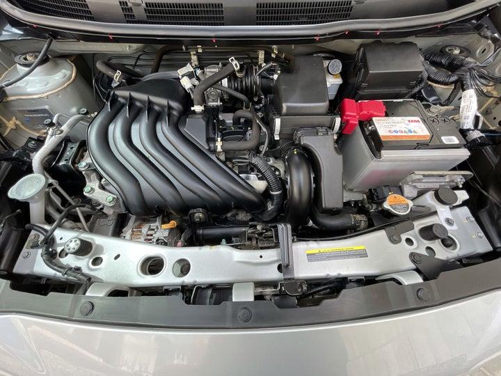 Nissan Micra-OPEN BONNET (ENGINE) VIEW