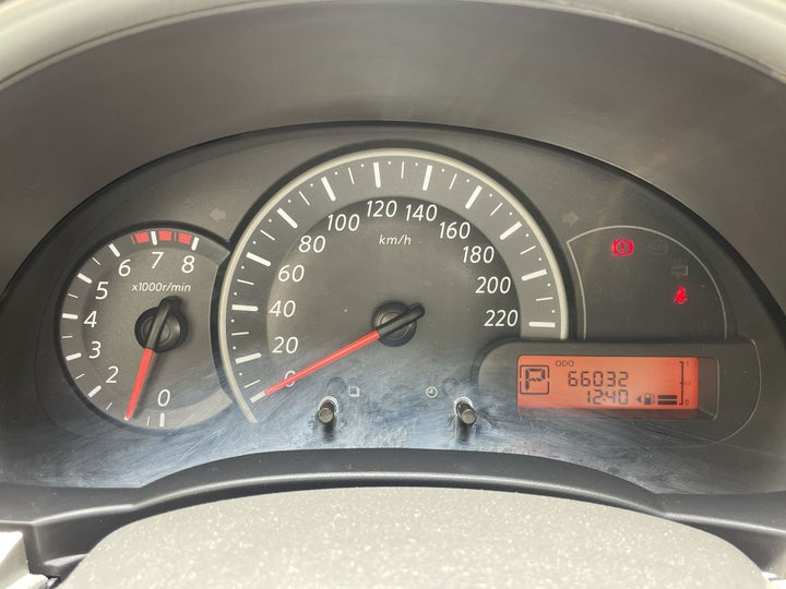 Nissan Micra-ODOMETER VIEW