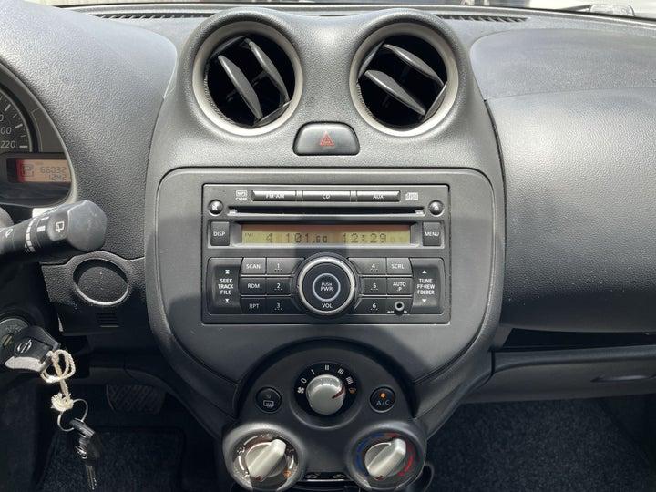 Nissan Micra-CENTER CONSOLE