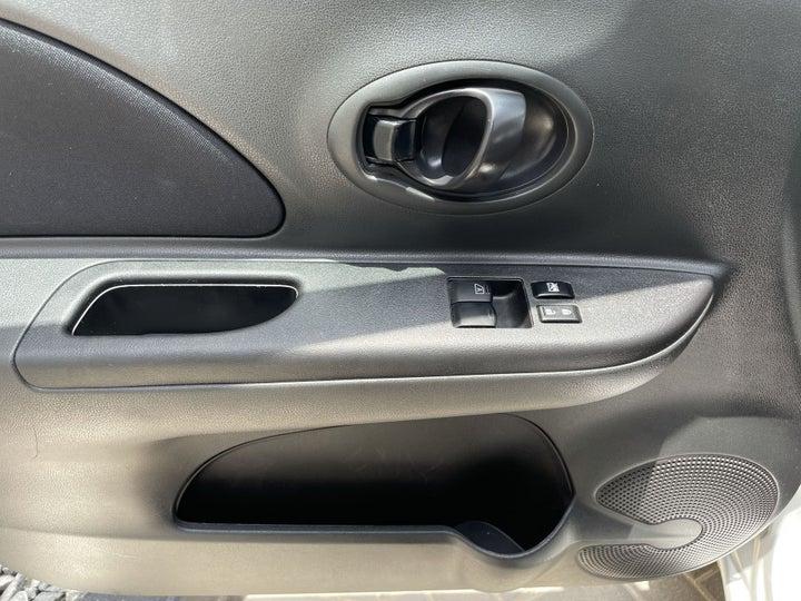 Nissan Micra-DRIVER SIDE DOOR PANEL CONTROLS