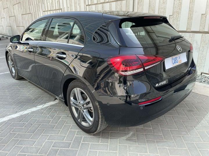 Mercedes Benz A-Class-LEFT BACK DIAGONAL (45-DEGREE) VIEW