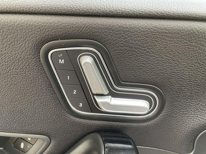 Mercedes Benz A-Class-DRIVER SIDE ADJUSTMENT PANEL