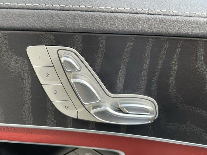 Mercedes Benz C-Class-DRIVER SIDE ADJUSTMENT PANEL