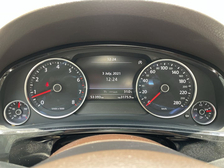 Volkswagen Touareg-ODOMETER VIEW