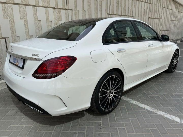 Mercedes Benz C-Class-RIGHT BACK DIAGONAL (45-DEGREE VIEW)