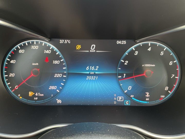 Mercedes Benz C-Class-ODOMETER VIEW