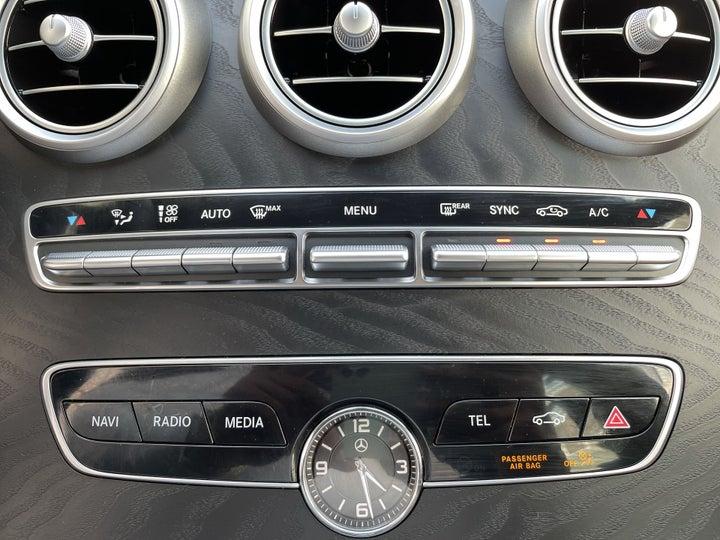 Mercedes Benz C-Class-AUTOMATIC CLIMATE CONTROL