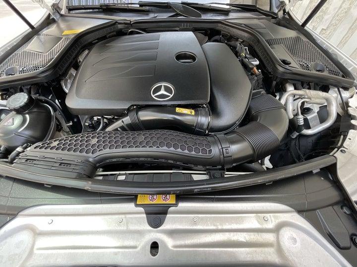 Mercedes Benz C-Class-OPEN BONNET (ENGINE) VIEW