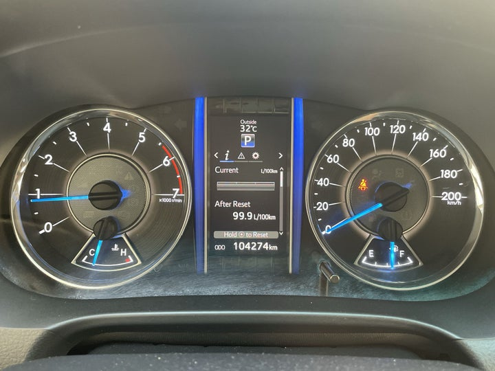 Toyota Fortuner-ODOMETER VIEW