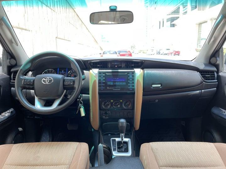 Toyota Fortuner-DASHBOARD VIEW