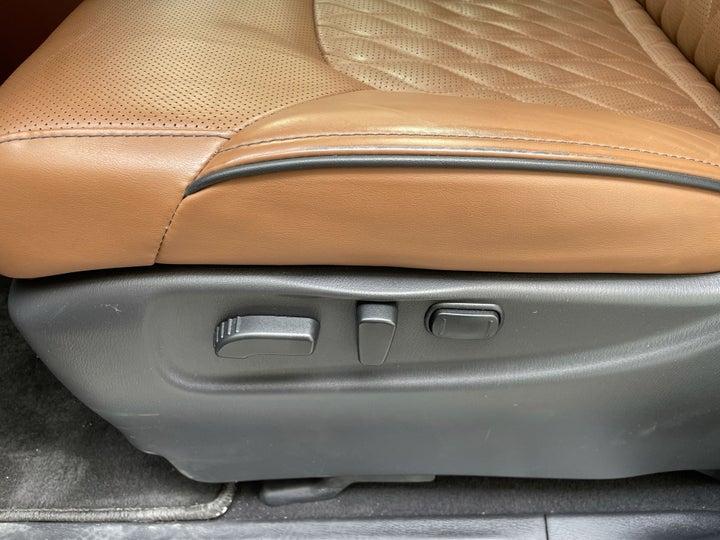 Infiniti QX80-DRIVER SIDE ADJUSTMENT PANEL