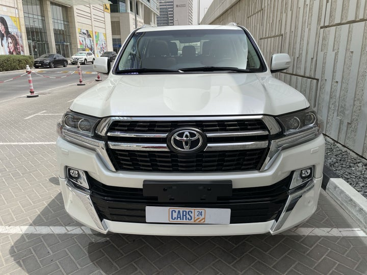Toyota Land Cruiser-FRONT VIEW
