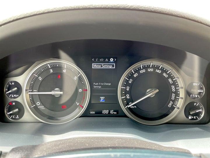 Toyota Land Cruiser-ODOMETER VIEW