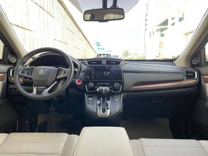Honda CRV-DASHBOARD VIEW